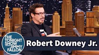 Robert Downey Jr. Becomes His 20-Year-Old Self in Captain America: Civil War