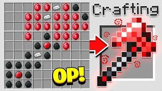 HOW TO CRAFT A $10,000 AXE! *OVERPOWERED* (Minecraft 1.13 Crafting Recipe)