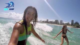 SEXY SURF   Sexy Girls Surfing  Best Surfer Girls HD Epic Surf