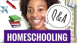 Homeschooling Q&A + Giveaway