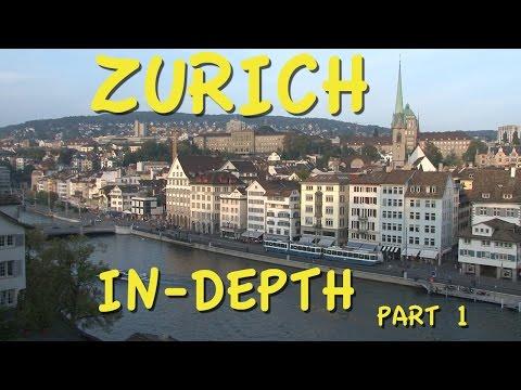 Zurich Switzerland part 1 Old Town walking tour