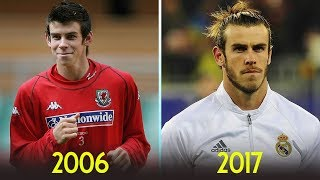 Gareth Bale - Transformation From 8 To 28 Years Old