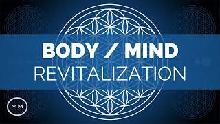 Body & Mind Revitalization - 432 Hz - Restore Energy & Well-Being - Binaural Beats Meditation Music
