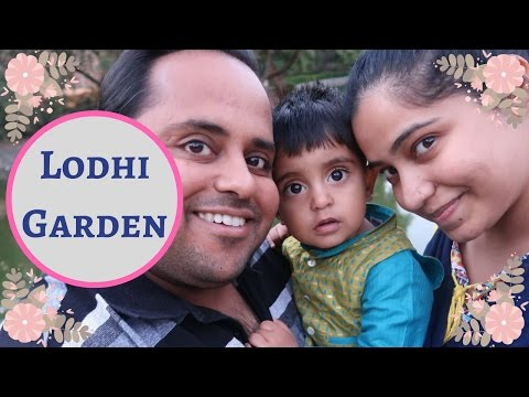 An Evening out at Lodhi Garden with my little family. | Indian family vlog