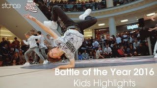 Battle of the Year 2016 Kids Highlights // .stance