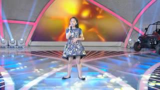 Programa Raul Gil - Larissa Ossério (Abandonada) - Jovens Talentos Kids 2013
