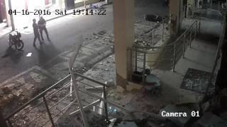 Momento Terremoto Portoviejo 7.8 16 de abril 2