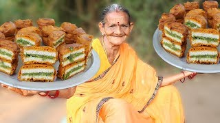 Bread Pakora Recipe by My Grandmother || Myna Street Food