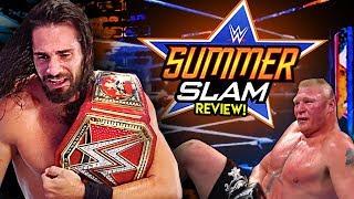 WWE SummerSlam 2019 Review!