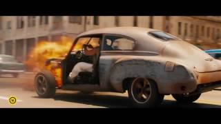 Halálos iramban 8 - Dom autója kigyullad - magyar nyelvű filmklip