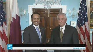 وزير الخارجية القطري يواصل جهوده لحل الأزمة الخليجية