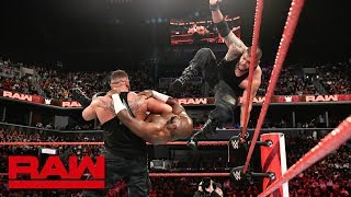 Titus Worldwide vs. AOP: Raw, Aug. 20, 2018