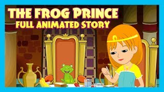THE FROG PRINCE - KIDS STORY IN ENGLISH || ANIMATED MOVIES FOR KIDS - FULL STORY