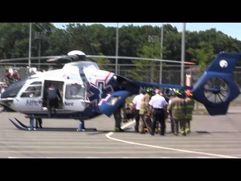 Xxx Mp4 Medical Helicopter Airlifting At Schenectady High School 3gp Sex