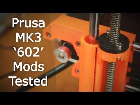 4 Weeks Testing Prusa i3 MK3 Mods