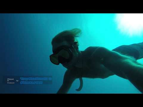 How to hold your breath underwater for a long time - Freediving Fiji