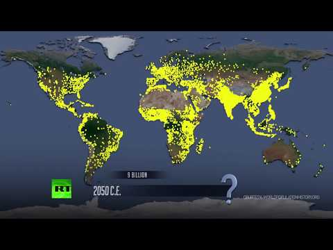 Time Lapse: World population grows through history