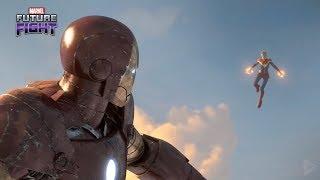 Captain Marvel & Iron man - Marvel's Future Fight