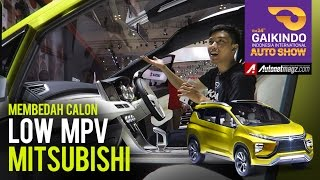 First look Mitsubishi XM Concept (crossover MPV) at GIIAS 2016