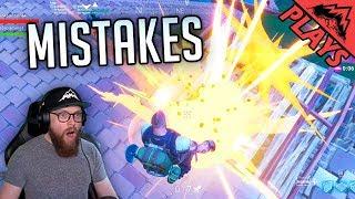 I MAKE MISTAKES - Fortnite Gameplay #38 (Fortnite Duo StoneMountain64 & Rivalxfactor)