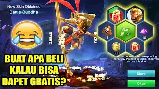 TRIK GAMPANG DAPETIN SKIN SUN dari LUCKY SPIN! - Mobile Legends Indonesia