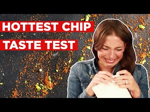 People Try To Eat The World s Hottest Chip