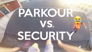 PARKOUR vs. SECURITY - POV Parkour | JonaTV