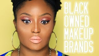 Do nude lipsticks by Black Owned Makeup Brands actually work on POC? 😳