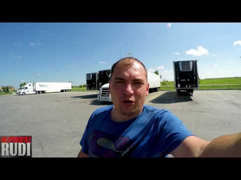 Dispatch was Surprised how fast I got to Winnipeg TRUCKER RUDI 07/24/17 Vlog#1140