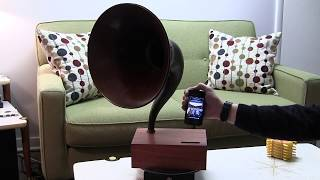 Acoustic iPhone Speaker Dock with Music Master Horn