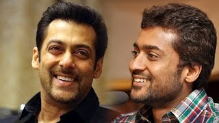 South Superstar SURIYA Follows Salman Khan