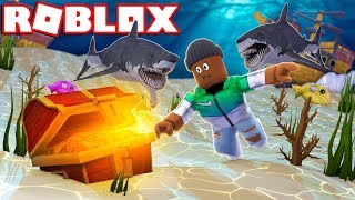 *NEW* DIVING 1000 FEET UNDERWATER IN ROBLOX