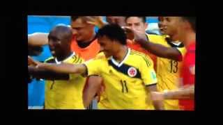 Colombia vs. Japan Penalty Celebration Zombie Horde Cuadrado World Cup Soccer Team - Alternate Angle