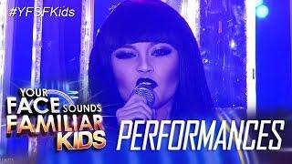 Your Face Sounds Familiar Kids: AC Bonifacio as Jessie J - Domino