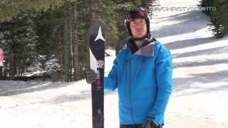2016 Atomic Vantage 100 CTI Men's Skis - Christy Sports