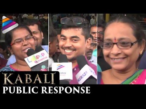 Rajinikanth Kabali Movie Public Response | Kabali Movie Review | Radhika Apte | Telugu Filmnagar