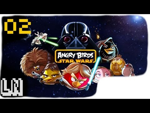 Let s Play Angry Birds Star Wars 02 Han Solo bird shoots first