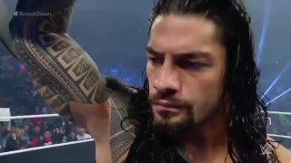 The Miz and Maryse barge in on Roman Reigns  SmackDown, April 28, 2016 React by Reactmania