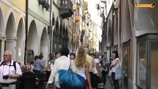 Bozen - Bolzano schöne Stadt in Südtirol Alto Adige Italien Italia