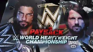 WWE Payback Promo 2016 - Roman Reigns vs AJ Styles