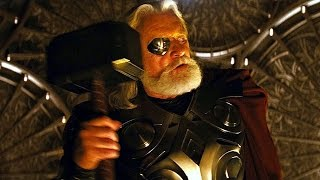 Thor vs Odin - Odin Takes Thor's Power (Scene) Movie CLIP HD