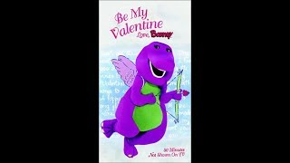 Be My Valentine Love, Barney VHS (Screener Copy)