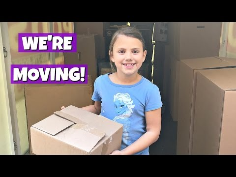 WE RE MOVING TO A NEW HOUSE PACKING & GYMNASTICS