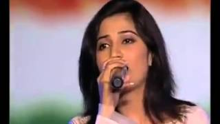 Shreya Ghosal Bangla live concert song ekla cholo re exclusive   YouTube