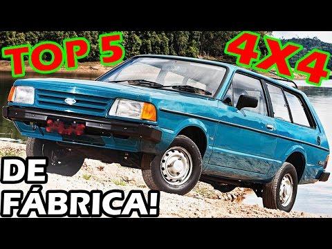 TOP 5 CARROS DE PASSEIO 4X4 DO BRASIL