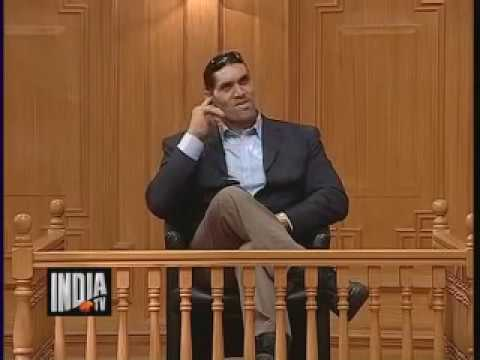 The Great Khali In Aap Ki Adalat Part 1   India TV