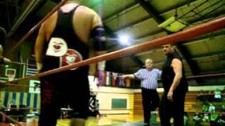 Former WWE Star SAMU & Brittney Savage vs Danny DeManto & Damien Darling