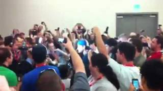 CM Punk Crashes WWE Panel At San Diego Comic-Con, Confronts Triple H