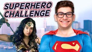 THRIFT STORE SUPER HERO CHALLENGE (Squad Vlogs)