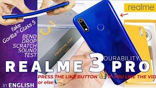 Realme 3 Pro Durability Test - Not better than Realme 3? |Bend Test|Drop|Scratch|Sound Test|